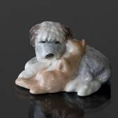 Old English Sheepdog, Royal Copenhagen hunde figur