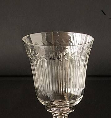 Topglas til fyrfadslys