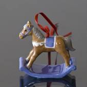 Figur ornament 2002, Gyngehest