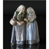 To gamle Koner, Royal Copenhagen figur