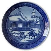 Sven Vestergaard -Hans Christian Andersen's house 2005, Royal Copenhagen Christmas plate