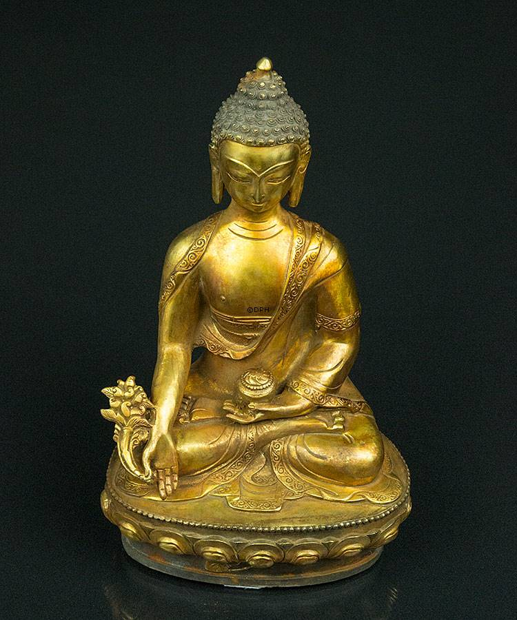 buddha figur 33 cm nr 9000 18 dph trading. Black Bedroom Furniture Sets. Home Design Ideas