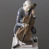 Cellist, Bing & Grøndahl figur, Herre spiller Cello nr. 2032