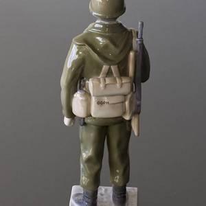 Soldat krog op