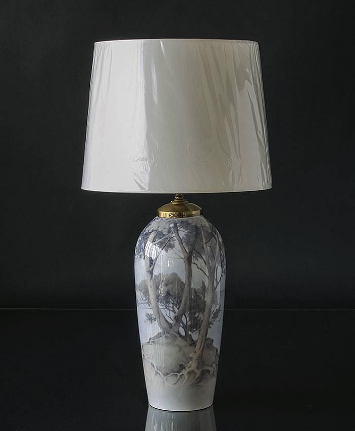 Lampeskærm cylinder hvid