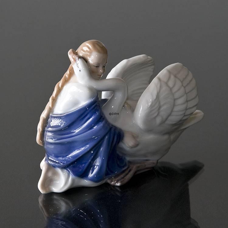 De vilde svaner, en figur i H. C. Andersen serien fra Bing & Grøndahl | Nr. bd5-3 | DPH Trading