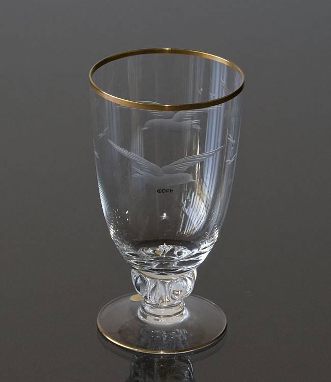 Lyngby måge drikkeglas, øl glas | Nr. dg3106 | DPH Trading