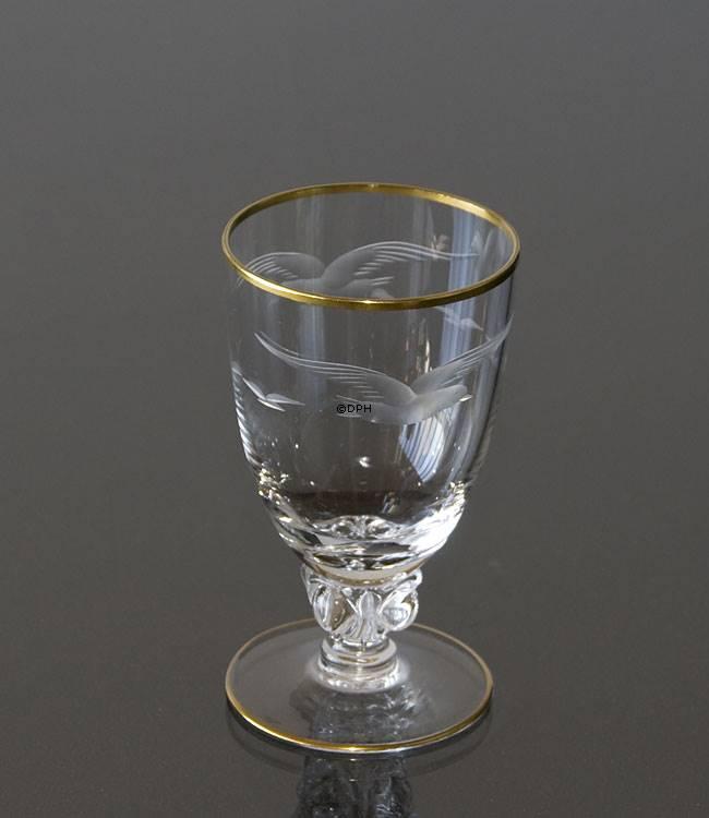 Lyngby måge drikkeglas, vandglas | Nr. dg3109 | DPH Trading