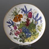 Franklin Porcelain, Wedgwood, Blomster platte serie, April