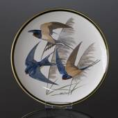 Franklin Porcelain Wedgwood, 1977, Verdens Sangfugle, Barn Swallow