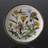 Franklin Porcelain Wedgwood, 1977, Verdens Sangfugle, European Goldfinch