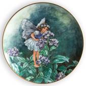 Villeroy & Boch platte, nr. 4  i serien Flower Fairies Collection - Heliotr...
