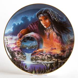 Royal Doulton platte: The Waters of Life | Nr. DV3128 | DPH Trading
