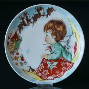 Wall decoration -1975 Hummel Goebel Charlot Byj Christmas plate