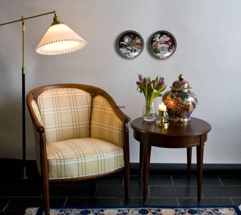 le klint 349 teleskoplampe i sort med messing nr lk 349 alt 349s dph trading. Black Bedroom Furniture Sets. Home Design Ideas