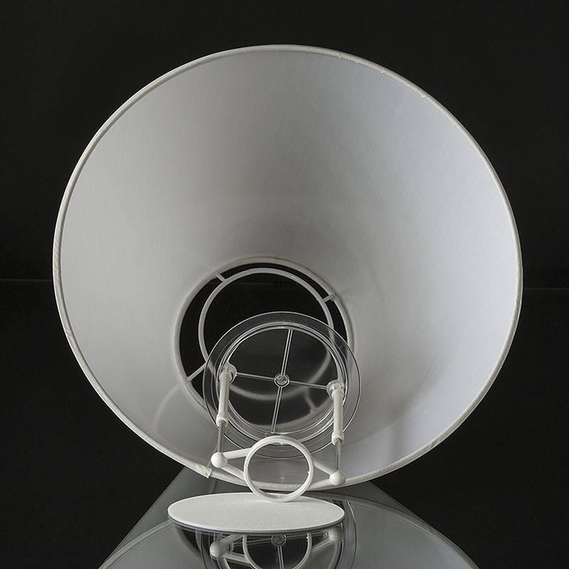 Round lampshade white