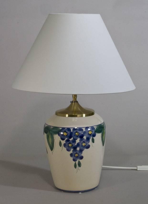 Rund lampeskærm - standard høj model
