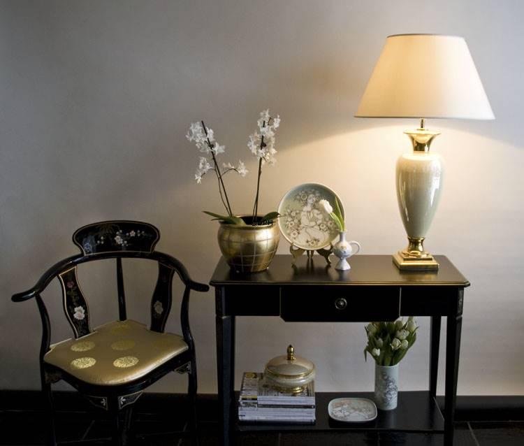 Store Runde lampeskærme - Mellem høj model