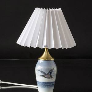 Lampe med and, Royal Copenhagen nr. 1087-88-6
