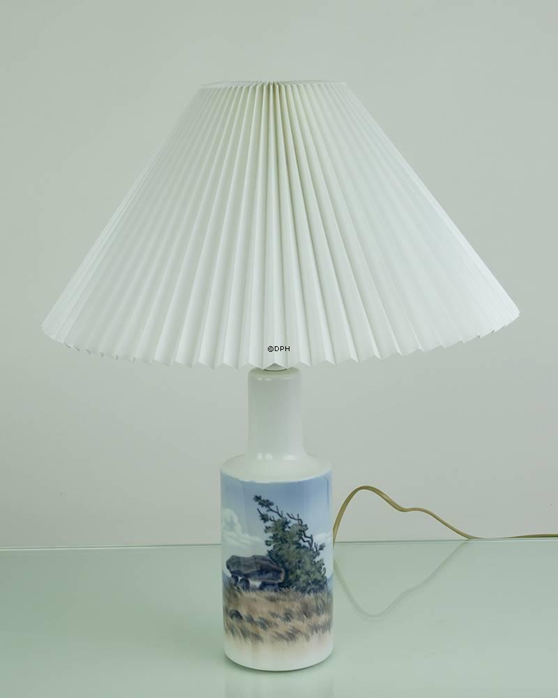 Skærm til Royal Copenhagen lampe - Le klint model 2