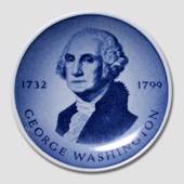 Royal Copenhagen Plaquette nr. 175, George Washington