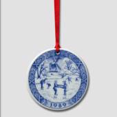 1989 Royal Copenhagen Ornament