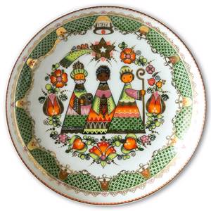 Wall decoration -1977 Steinbock Annual plate