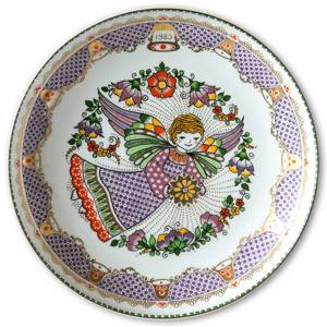 Wall decoration - 1983 Steinbock Annual plate