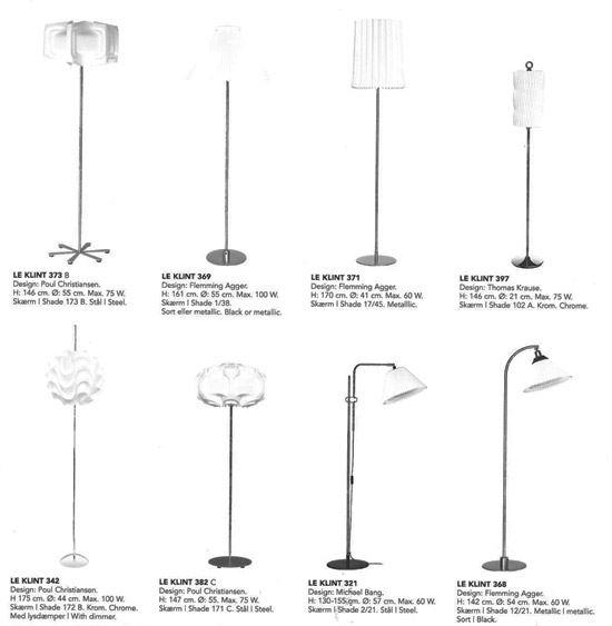 Le Klint Standerlampe