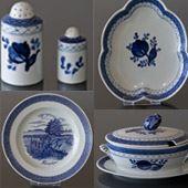 gammel kongelig porcelæn