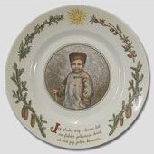 Royal Copenhagen Peters Jul platter