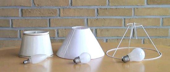 Sekskantede Lampeskærme - Den klassiske lampeskærm - Se det kæmpe udvalg hos DPH Trading