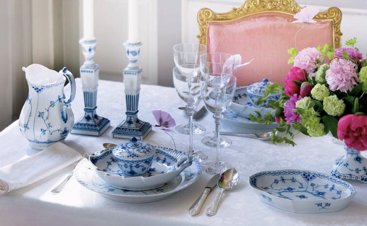 Blue Fluted Royal Copenhagen
