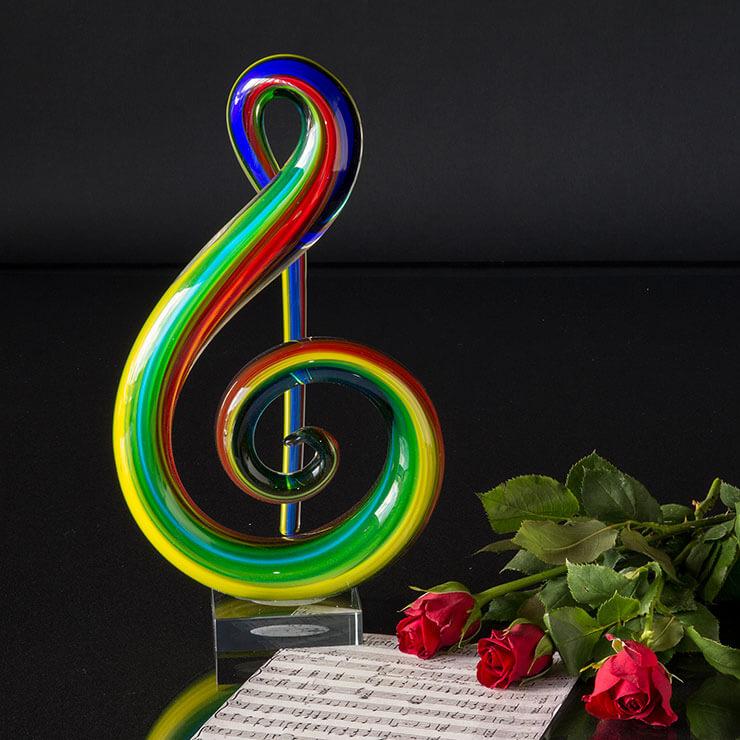 G-nøgle - Perfekt gave til musikeren - konservatorie uddannelsen osv.