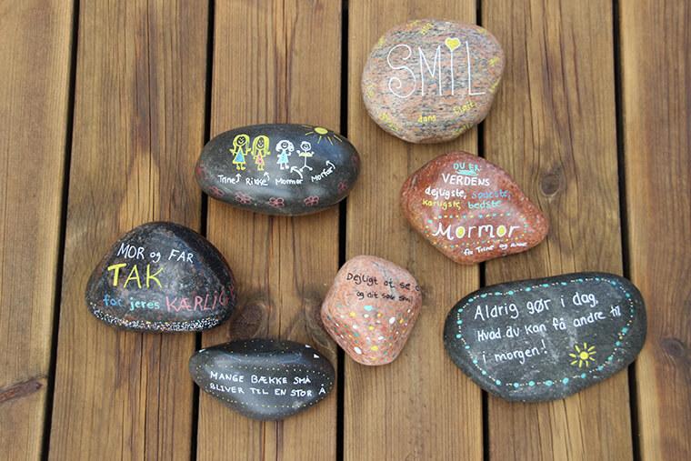 dekoration af sten