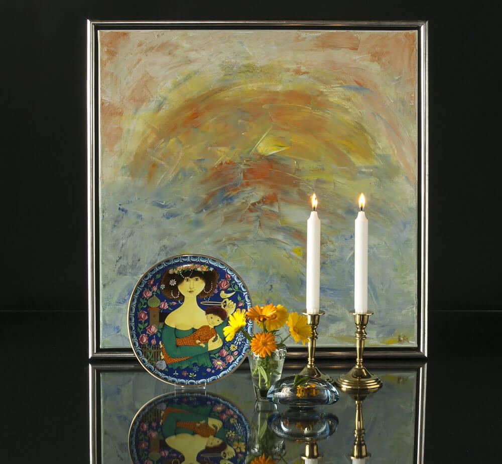 Gustavsberg porcelæn og svenske platter og juleplatter   DPH Trading